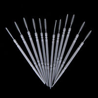 150x 2-way Oral Dental Pick Tooth Pick Interdental Brush Toothpick Plastic 6. H#