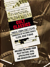 Cult Classics Film Solo Piano Learn to Play FLUTE TUNES SONGS FABER Music BOOK