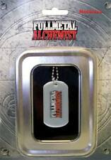 Fullmetal Alchemist Dog Tag Fma Logo Necklace
