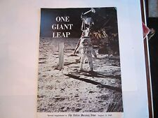 """1969 """"ONE GIANT LEAP"""" SPECIAL NEWSPAPER SUPPLEMENT - AUG. 13, 1969 - BB-2"""