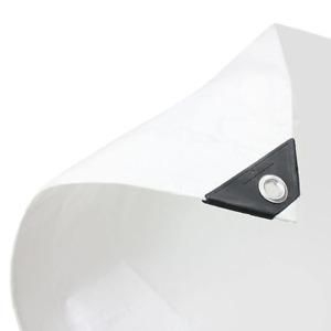 White Tarpaulin Heavy Duty 200gsm for Market Stalls