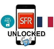 Liberar Unlock SFR Francia France iPhone 3,4,5,6,7,8,X,XR,Xs,Xs Max plus