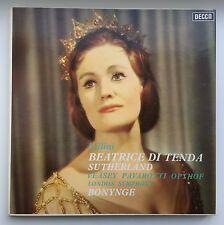 Bellini / Beatrice Di Tenda / Sutherland / Pavarotti / Bonynge / DECCA SET 320/2