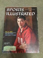 FM1-7 Sports Illustrated Magazine 6-27-1960 The US Open Golf /Glenn Davis