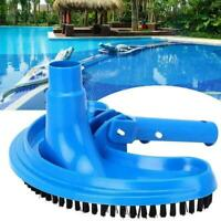 Swimming Pool Suction Vacuum Head Brush Cleaner Curved Head Suction O2A7