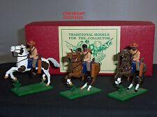 Miniaturas de trofeo ZS45 Guerra Zulu Natal nativo Troopers montado Soldado De Juguete Set