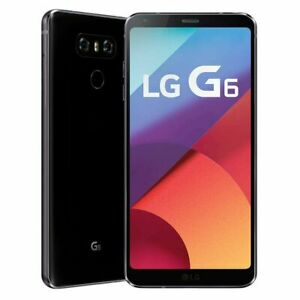 *NEW LG G6 H872 - 4G LTE 32GB Smartphone Astro Black (T-Mobile UNLOCKED)
