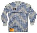 Vintage 1980 / 90's Umbro Blue / Grey Celtic Goalkeeper Shirt Template - Large