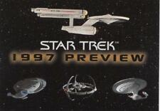 1997 Star Trek Preview promo Card Skybox NM/Mint condition