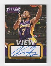 Xavier Henry AUTOGRAPH Los Angles Lakers 2014 Panini AUTO Basketball Kansas *