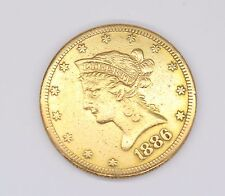 1886 TEN DOLLAR LIBERTY GOLD COIN