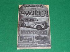 Vintage Ford Prefect Dealers Advertising Metal Inkstamp Pictorial with Price !