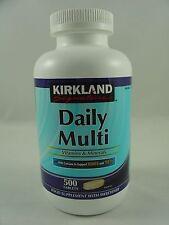 Kirkland DAILY MULTI VITAMINS & MINERALS 500 Tablets Sealed