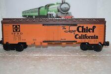 O Scale Trains Lionel Santa Fe Reefer 5125 Repaint