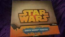NEW - Disney Star Wars DARTH VADER TOASTER helmet kitchen 2-slice toast HOT