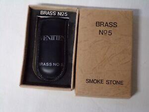 G48/ briquet Brass n°5 Vénitien avec étui + boite-manque la mèche