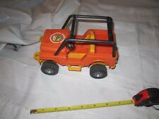 Fisher Price Adventure Series people Jeep Northwoods trailblazer 312 rescue camp