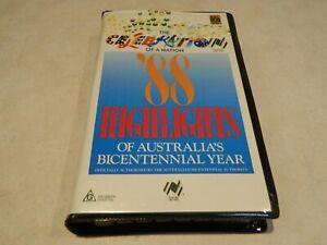 ABC Video: '88 Highlights of Australia's Bicentennial Year VHS {very rare}