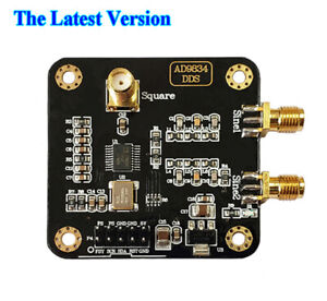 AD9834 DDS Signal Generator Module Sine/Triangle/Square Wave Signal Source