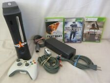 Microsoft Xbox 360 Bundle (120 GB, Black) with 3 Games incl. Walking Dead
