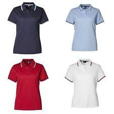 Cotton Blend Polo Shirts for Women