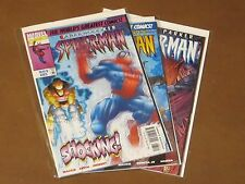 SPIDER-MAN #85 - 87 NM COMPLETE RUN PAUL STACY SET SHOCKER HAMMERHEAD TRAPSTER