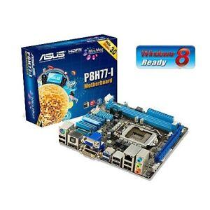 ASUS p8h77- ITX intel 2700K CPU 8gb G.Skill ram