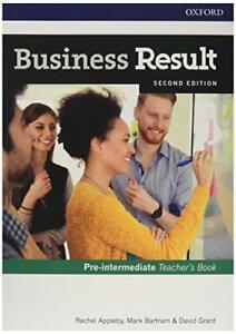 Business Result Pre-intermediate Teacher's Book and DVD 2nd Rachel Applyby New