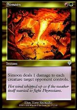 Simoon NM X4 Invasion MTG Magic Cards Red Green Gold Uncommon