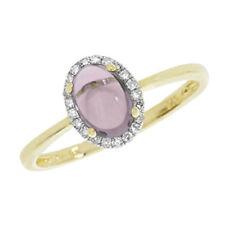 Anelli di lusso ametista ovale Diamante