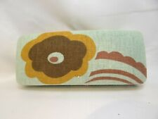 LAURA ASHLEY Hard Clam Case in Floral Cloth For Glasses 44 mm Authentic Unused