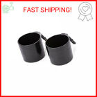 Diono Cup Holder for Radian, Everett and Rainier Car Seats, Black (2-Pack)