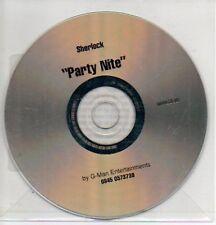 (209L) Sharlock, Party Nite - DJ CD