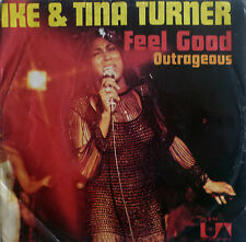 "7"" 1972 RARE ! IKE & TINA TURNER : Feel Good / VG+?"