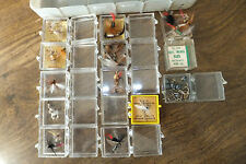 Vintage Bill Dewitt Fly Case & Collectible Fly's Hank Roberts & More!