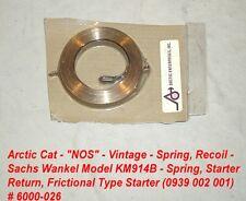 Arctic Cat Recoil Starter Spring, Frictional Type Sachs # 6000-026 KM914B
