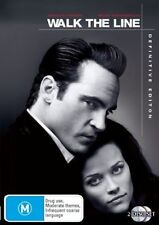Walk the Line (DVD, 2008, 2-Disc Set) NEW AND SEALED fast Free Post