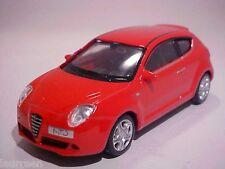 Alfa Romeo Mito 2010 Welly 1/43 Diecast Mint Loose