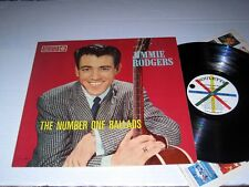 JIMMIE RODGERS The Number One Ballads ROULETTE Mono