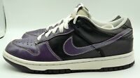 Nike Dunk Low 317813-552 Purple Black Womens Size 8