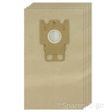 5 x Paper GN Type Hoover Bags For MIELE S2000 S2 Series Vacuum