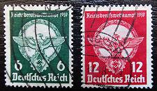 Deutsches Reich 689-690 , Reichsberufswettkampf , Gestempelt