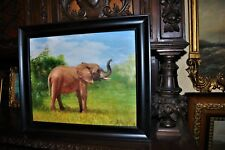The most Beautiful Elephant   Painting by well known Artist