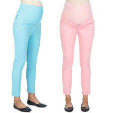 Ripe Maternity Crop Pants - Pink or Blue Sz XS
