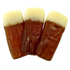 Pint Pots Retro Sweets Beer Flavour Foam Gummy Jelly Pick N Mix Kids Candy