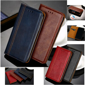 Magnetic Flip Card Wallet PU Leather Phone Case Cover For Asus Zenfone Phones