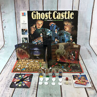 GHOST CASTLE: Vintage MB Board Game - 100% complete 1980s 1985