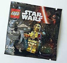 LEGO STAR WARS THE FORCE AWAKENS C-3PO RED ARM POLYBAG 5002948 NEW
