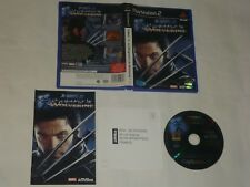 Jeu X-MEN 2 LA VENGEANCE DE WOLVERINE Sony Playstation 2 PS2 PS3 FRA Complet TBE