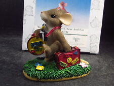 Charming Tails Visiting Friends Both Near And Far Mouse 97/31 w/ Box